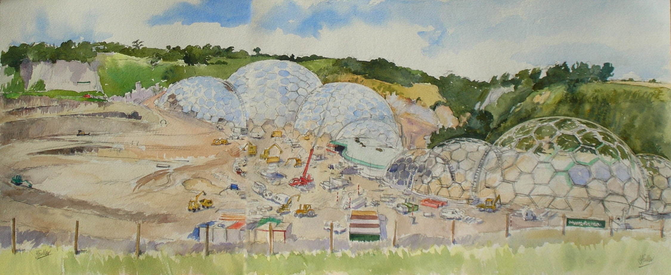 The Eden Project a & b