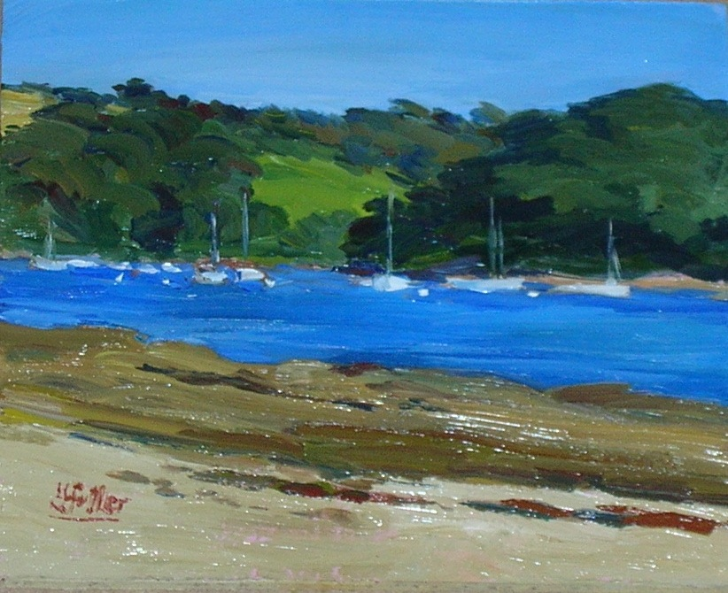 St Mawes inner harbour