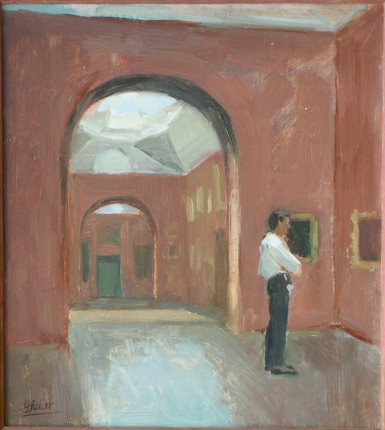 Dulwich Picture Gallery, closing time