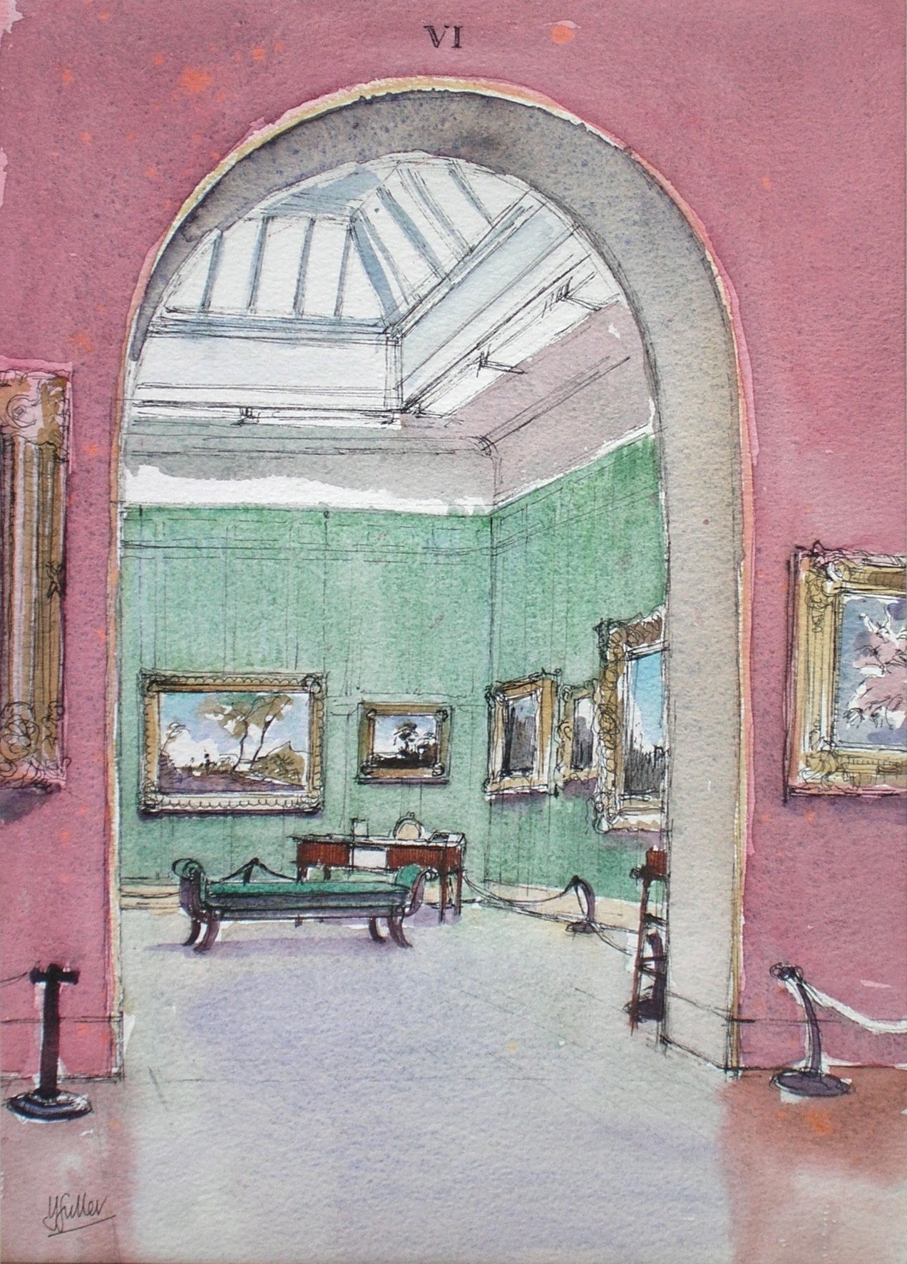 Dulwich Picture Gallery, the Cuyp Room