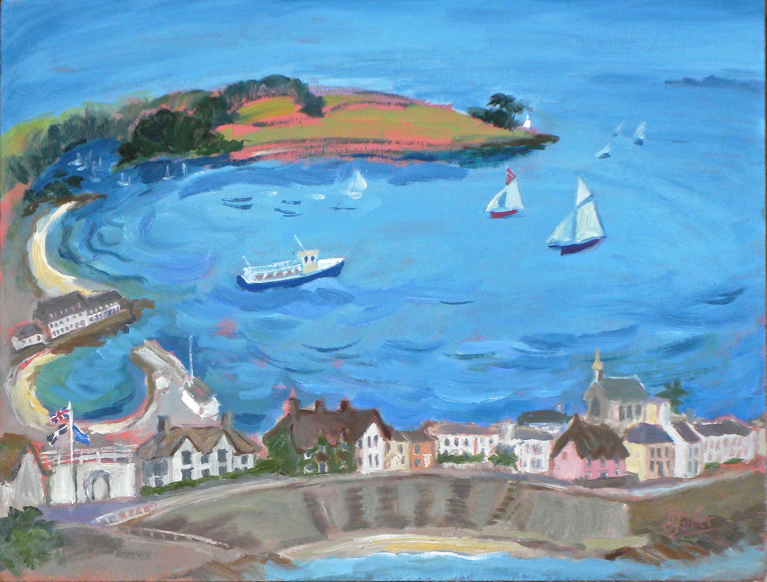 745 A vision of St Mawes