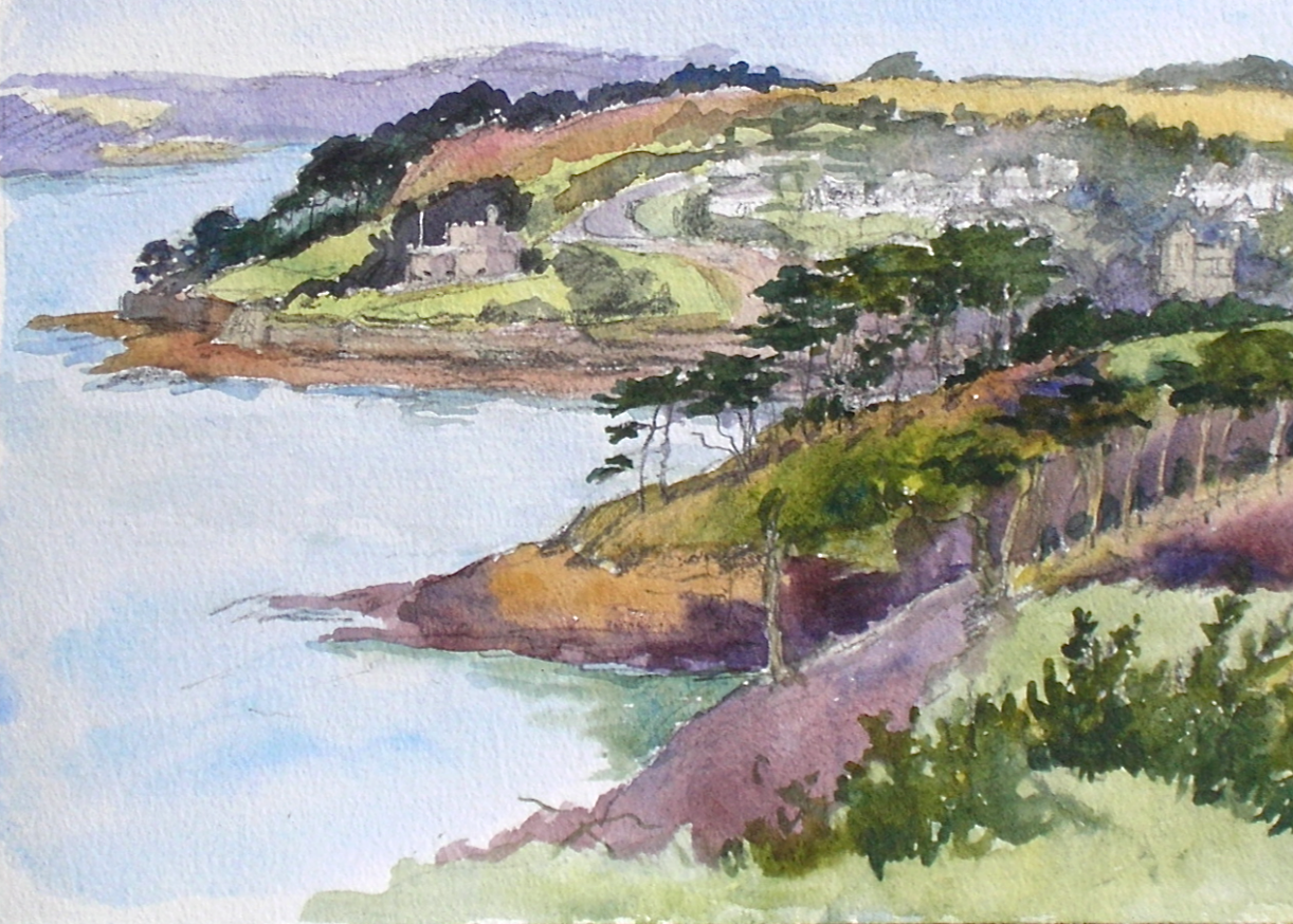 St Mawes from St Anthony