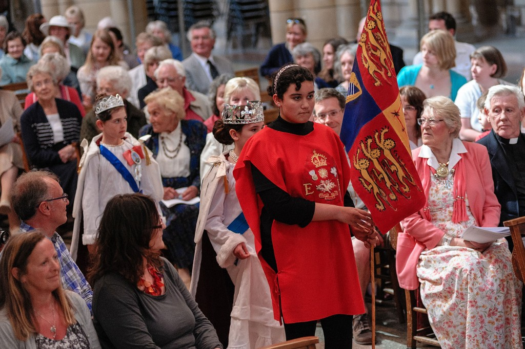 Coronation 2nd June 2013 Truro Cathedral