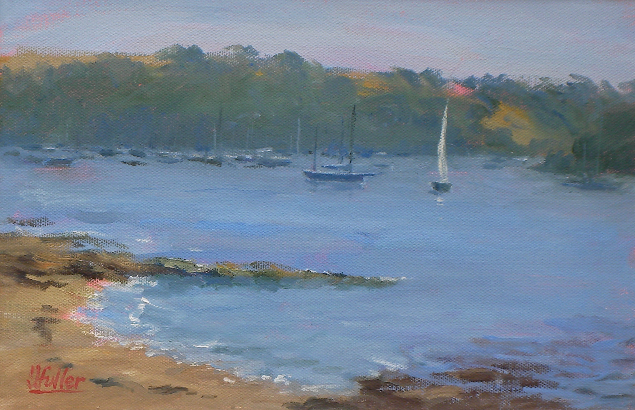 718-White-Sail-Misty-Morning.St-Mawes