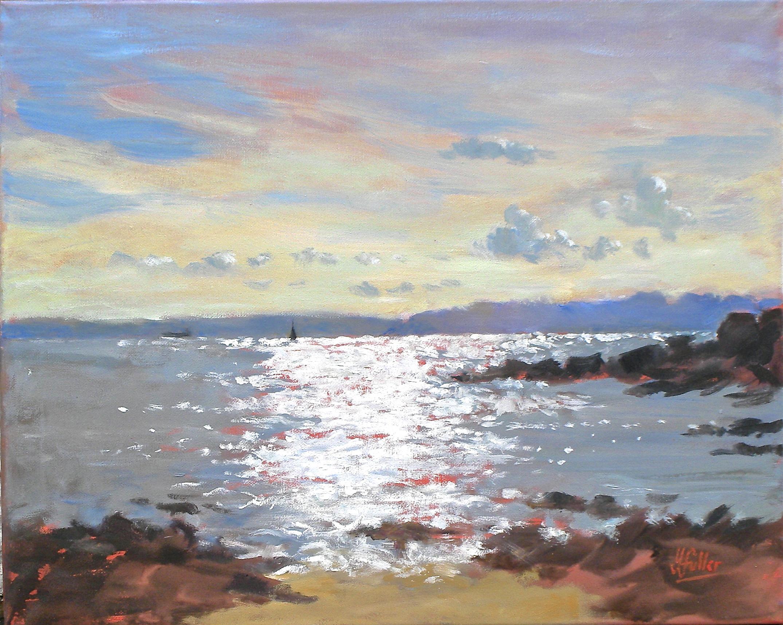 726 Falmouth-Bay summer sunset