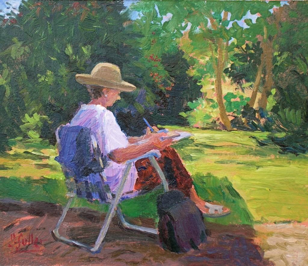 467 Jane painting