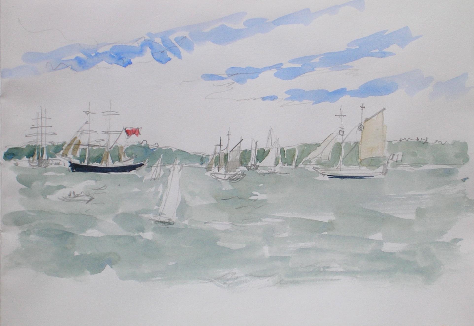 Tall Ships' Race 1998, the Start