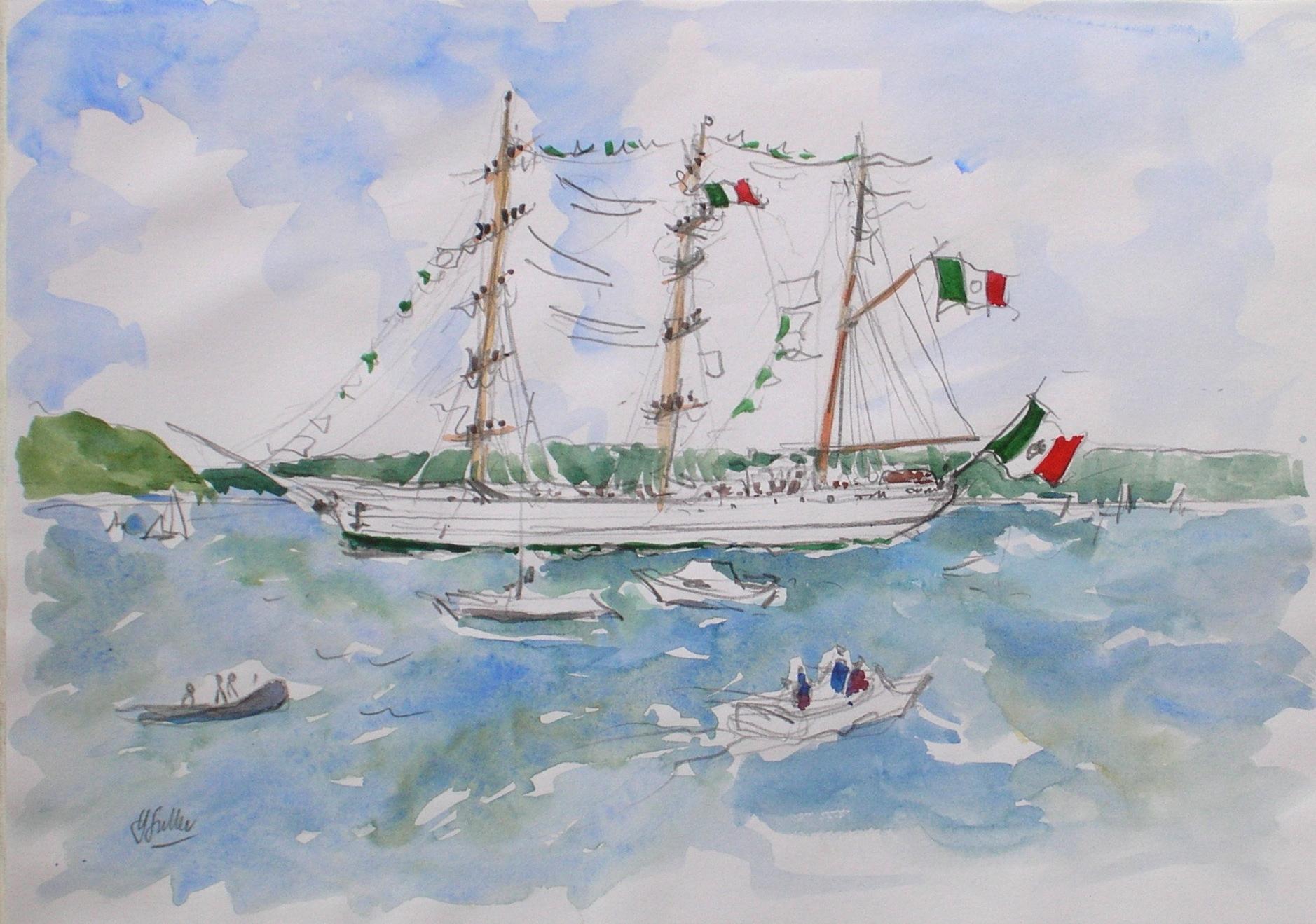 Cuauchtemoc, Tall Ships' Race 1998