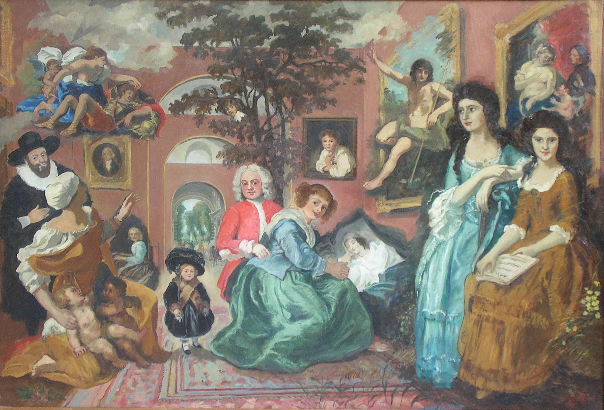 "Dulwich Picture Gallery, ""A little night mischief"""