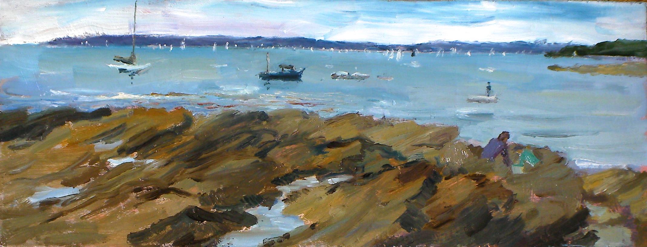 804 Sailing in Falmouth Bay