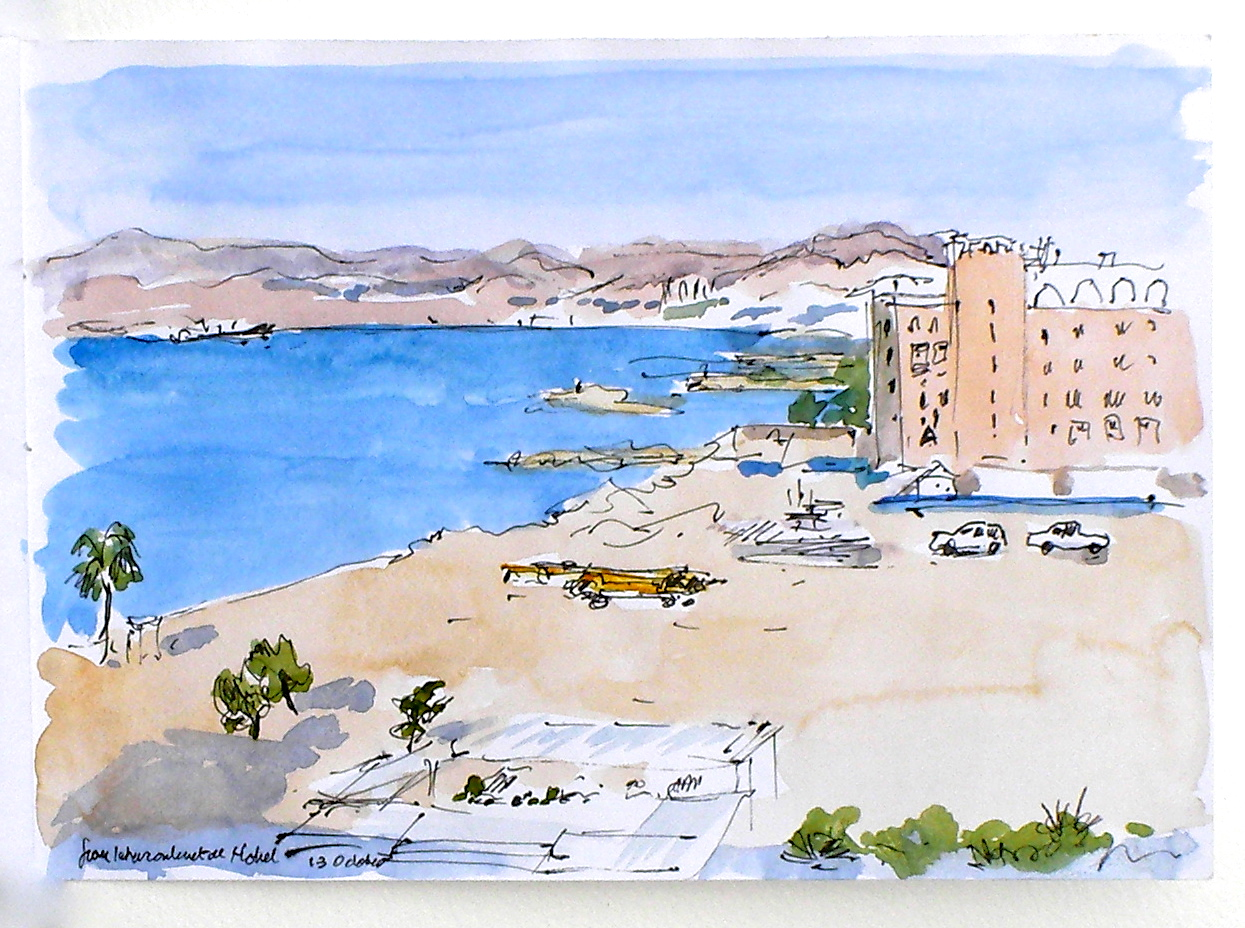 View from Hotel Intercontinental Aqaba