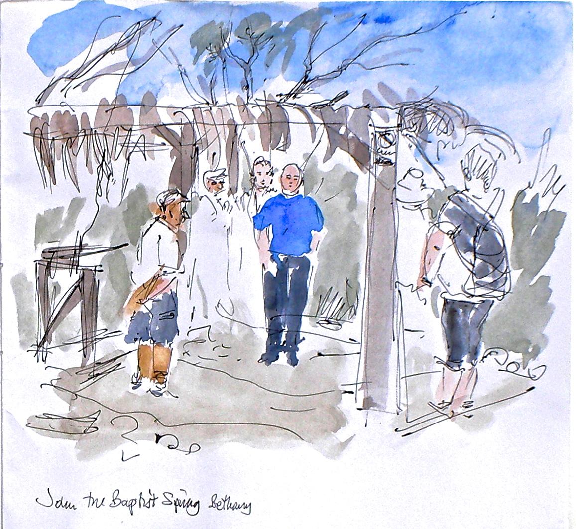 John the Baptis's pool, Bethany