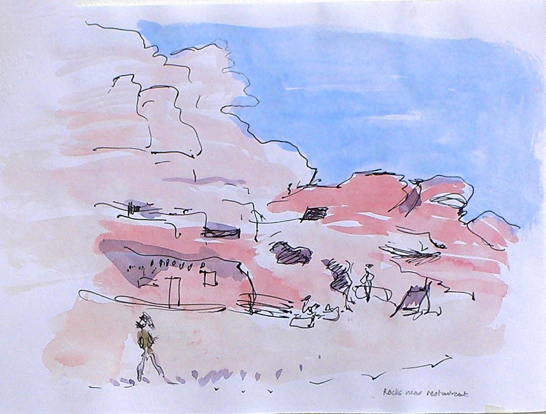 Petra, cave dwelling