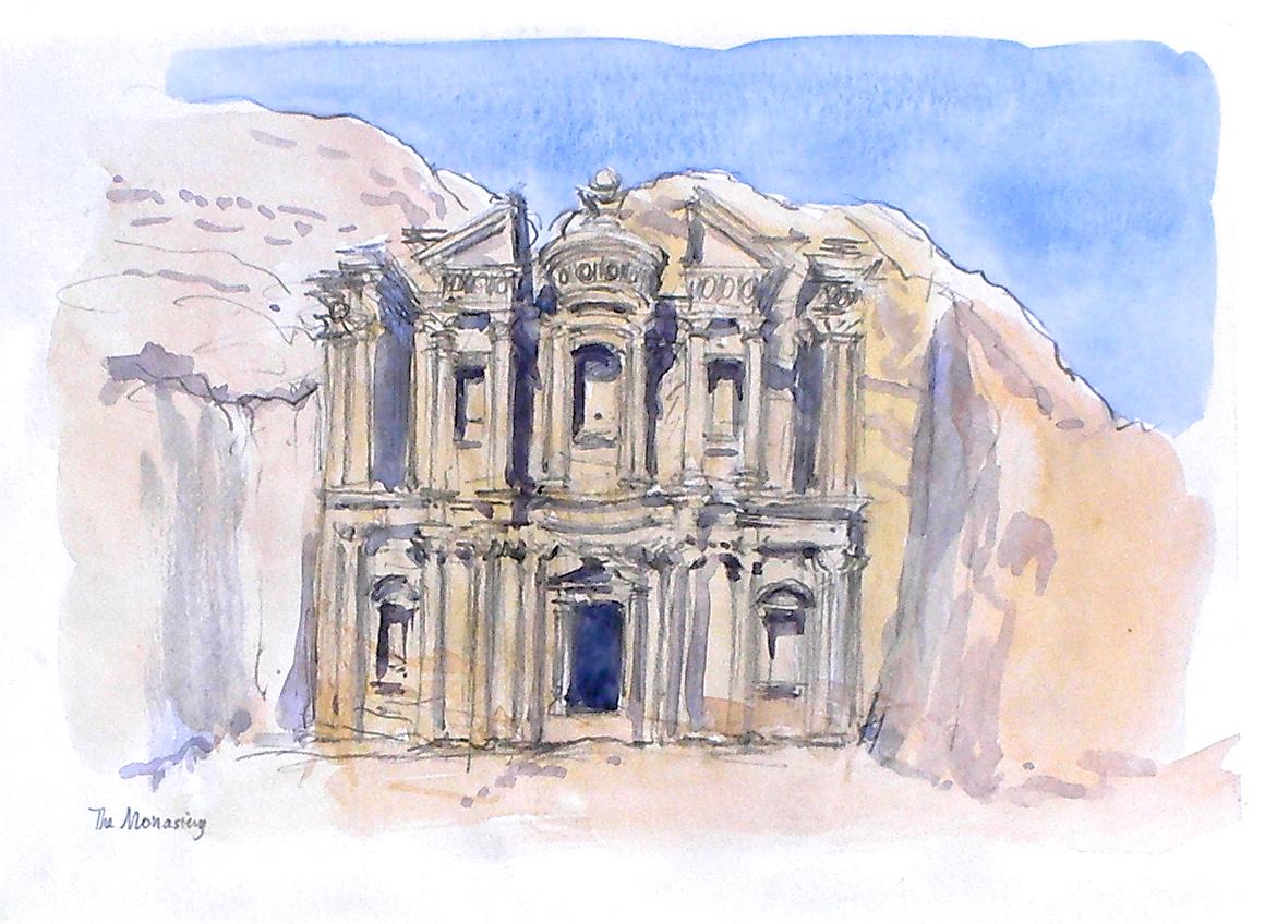 Petra, al-Deir