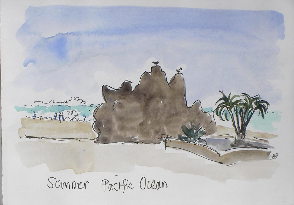 Sumner. Pacific Ocean