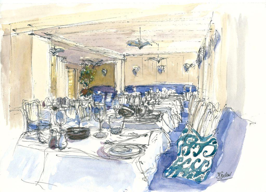 965  Hotel Tresanton, the Restaurant
